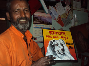 Baba the Sign Painter of Kathmandu