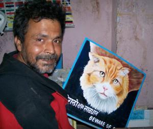 Fair trade folk art from the Himalayas