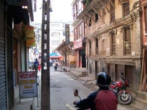 Asha's artist studio in Kathmandu